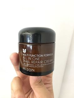 . Mizon Snail Cream is loaded with 92% snail mucus extract for effective acne and pigmentation reduction and moisture that basically turns back the clock.