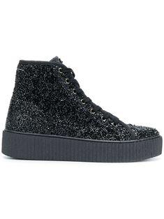 MM6 MAISON MARGIELA | Curly hi-top sneakers #Shoes #MM6 MAISON MARGIELA