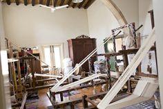 Julia Astreou weaving workshop