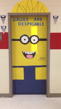 Despicable Me Red Ribbon Week! My students were so proud of themselves! I was pretty impressed with them as well.