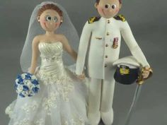 Wedding Cake Toppers by Sweet Frost Tops - YouTube