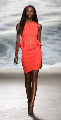 The Clement dress by Rolando Santana is a sleeve Anouk Aimee, Peplum Dress, Bodycon Dress, Short Dresses, Dresses For Work, How To Feel Beautiful, Cotton Spandex, High Neck Dress, Spring Summer