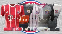 Excelente indumentaria de juego y entrenamiento del grande del fútbol Alemán, Bayer Múnich FC. #uniformes #camisetas #fútbol #bayermunich Bayer Munich Fc, Grande, Motorcycle Jacket, Sports, Jackets, Fashion, Game, Training, T Shirts