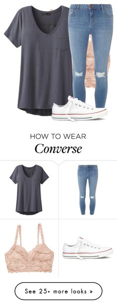 """""""Untitled #2506"""" by laurenatria11 on Polyvore featuring Cosabella, prAna, Dorothy Perkins and Converse"""