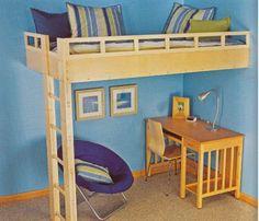 Built-Ins loft bed
