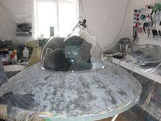 Rooftop Flying Saucer Project 06 by sicklilmonky.deviantart.com on @DeviantArt