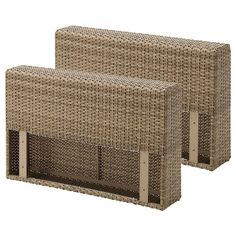 IKEA - SOLLERÖN, Armrest, outdoor, brown, The materials in this outdoor furniture require no maintenance. Easy to keep clean – just wipe with a damp cloth.