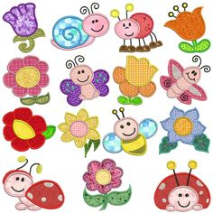 GARDEN Machine Applique Embroidery - Machine Embroidery Design for sale at https://www.southerncrossembroidery.com/market/garden-machine-applique-embroidery/