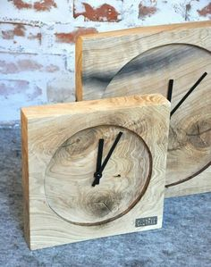 Steampunk Home Decor, Steampunk House, Home Clock, Diy Clock, Laser Cut Plywood, Rustic Wood Decor, Cool Clocks, Wooden Clock, Easy Woodworking Projects