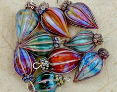 Libby Leuchtman pod pendants