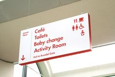 Millennium Gallery, Wayfinding System - The Cafeteria
