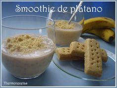 smoothie plátano Mayra Fdez Joglar Smoothie de plátano