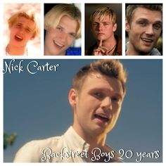 Nick Carter 20th anniversary Backstreet Boys