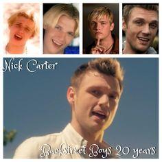 Nick Carter 20th anniversary Backstreet Boys