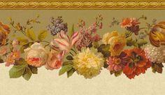 Коллекция картинок: Цветочне бордюры