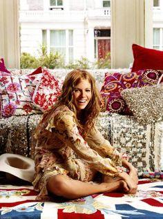 Style Icon: Sienna Miller.  Seemingly effortless beauty.