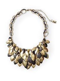 Kenneth Cole New York Multi Leaf Necklace