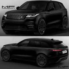 Range Rover Velar Black  #rangerover #cars #car #black