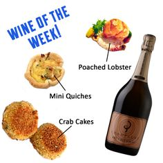 Champagne Billecart-Salmon Brut Sous Bois is our WOTW. Click image to see what else pairs well with this Champagne.