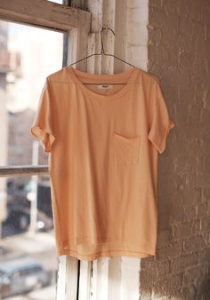 Madewell. Love the simplicity of this tee and the colour