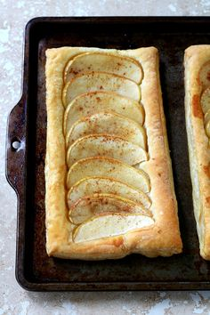 This Super Simple Puff Pastry Apple Tart could not be easier and bakes up so pretty, not even to mention how wonderfully delicious it tastes... it's honestly the perfect addition to your holiday dessert line-up!