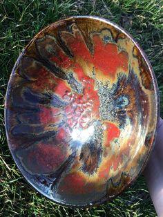 Amaco Ice over Ancient Jasper Raku Pottery, Pottery Sculpture, Slab Pottery, Glazes For Pottery, Pottery Mugs, Pottery Bowls, Pottery Art, Book Sculpture, Ceramic Clay