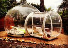 Rede de hotéis constrói hospedagens que são bolhas no meio da natureza (Divulgação/Attrap'Rjves)