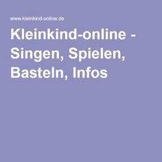 Kleinkind-online - Singen, Spielen, Basteln, Infos