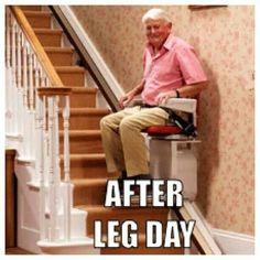 Squats, lunges, leg extensions, leg curls...death