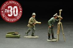 World War II German Army ETG-020 Tri Camo Artillery Add on set - Made by Figarti Military Miniatures and Models. Factory made, hand assembled, painted and boxed in a padded decorative box. Excellent gift for the enthusiast.