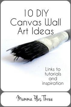 canvas DIY pinterest