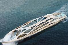 Zaha Hadid Superyachts  quitte à avoir un Yacht #luxury