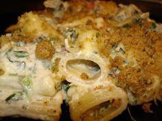 Cassie Craves: Creamy Spinach Artichoke Pasta