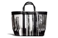 Coach x Krink Large Black and White Tote picture Coach Tote, Coach Bags, Coach Backpack, Coach Clutch, Handbags Online, Online Bags, Online Outlet, Custom Tote Bags, Cheap Coach
