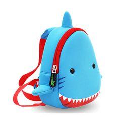 Animals Kindergarten Baby Bags 3D Shark Backpack Kids Waterproof Children School Bags For Girls Boys Cute Real Cartoon Mochilas