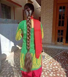 Long Silky Hair, Long Black Hair, Super Long Hair, Loose Hairstyles, Indian Hairstyles, Ponytail Hairstyles, Long Hair Ponytail, Braids For Long Hair, Beautiful Girl Indian