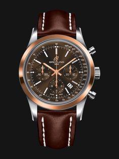 Breitling Transocean Chronograph - Swiss selfwinding watch