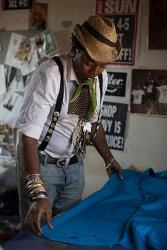 Smartie's Clubhouse, Soweto, South Africa, by the Sartorialist Fashion Moda, 70s Fashion, African Fashion, Fashion Outfits, Guy Outfits, African Style, The Sartorialist, Marlboro Man, African American Culture