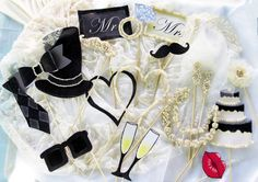 pinterest photo booth ideas | Wedding photo booth props for an elegant party – Part 2 – the ...