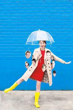 How To Make A Raining Men Costume | studiodiy.com