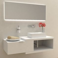Check out this Bathroom Idea for your projects The post Bathroom Idea - 623537579597812559 appeared first on My Building Plans South Africa. Bathroom Vanity Units, Bathroom Furniture, Bathroom Storage, Small Bathroom, Washroom, Wardrobe Door Designs, Wardrobe Doors, Wall Storage Shelves, Washbasin Design