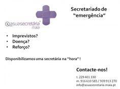 """Secretariado de """"emergência"""""""