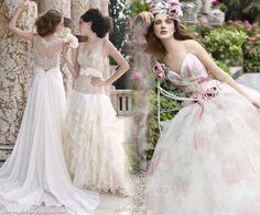 Atelier Aimee  Love the back on dress #1
