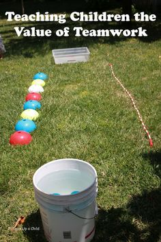 "Tot Preschool - Use for ""Apple Pickers"" Game *gross motor skills, counting, teamwork*"