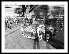 Trabant Framed Print featuring the photograph Trabant by Cuiava Laurentiu East German Car, Poster Prints, Framed Prints, East Germany, Frame Shop, Hanging Wire, Black Wood, Clear Acrylic, Fine Art America