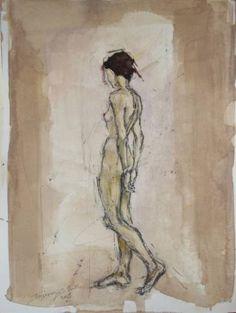 "Saatchi Art Artist Tilemachos Kyriazatis; Drawing, ""Study Λ -ΙΙ-"" #art"
