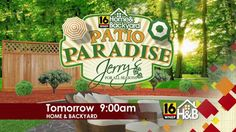 Get week 3's clue in the @jerrysallseason Patio Paradise Contest. Tune in tomorrow at 9am on @wnep!