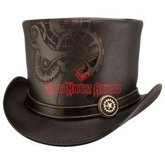 83a40fbeab0 Sprocket Steampunk Top Hat - MCI-6054 from Dark Knight Armoury Steampunk  Top Hat