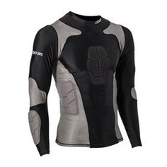 Padded Compression Shirts Adult c14244   Compression Shirt   This innovative new gear can be worn underneath uniforms or on its own. Constructed of nylon and sp