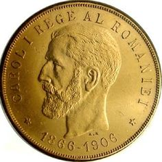 100 lei 1906 Gold Money, Gold And Silver Coins, World Coins, Vase, Hidden Treasures, Rare Coins, Coin Collecting, Romania, Old Things